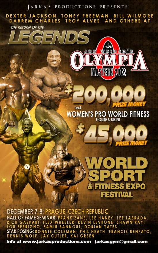 Masters Olympia 2012