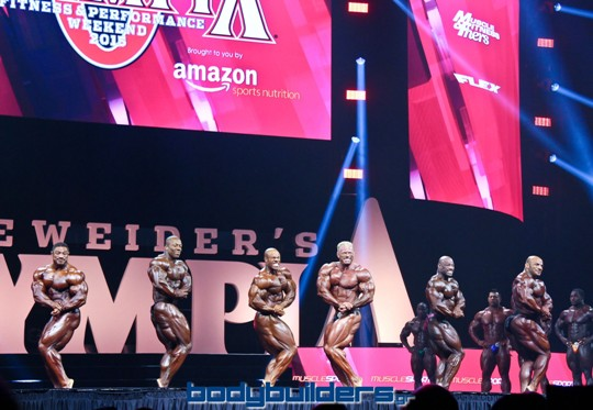 2015 IFBB Mr. Olympia - Prejudging Photos