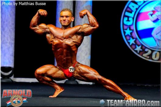Nicholas Anthony 2011 Arnold Classic Europe Amateur